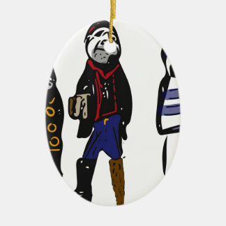 Pirates ahoy! christmas ornament