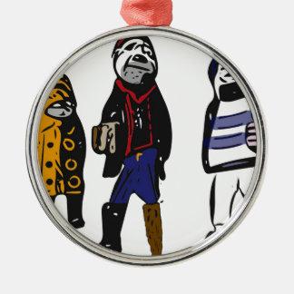 Pirates ahoy! christmas ornament
