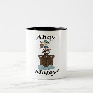 Pirates Ahoy Matey Mug