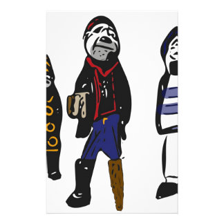 Pirates ahoy! stationery