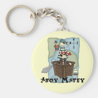 Pirates Ahoy Tshirs and Gifts Keychain
