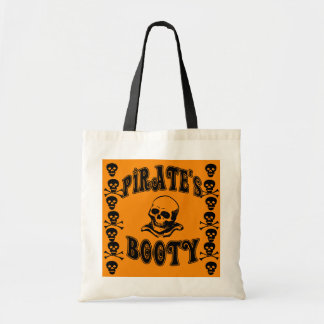 Pirate's Booty Halloween Candy Bag
