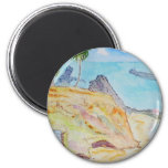 Pirate's Cove-Corona del Mar, CA 6 Cm Round Magnet