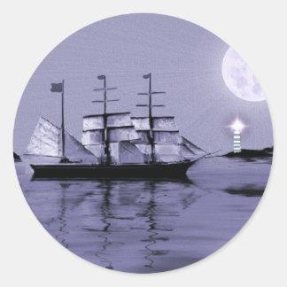 Pirate's Cove Round Stickers