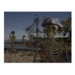 Pirates Curse Post Card