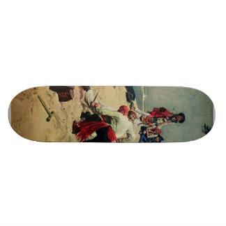 Pirates Fight Over Treasure Skate Board Decks