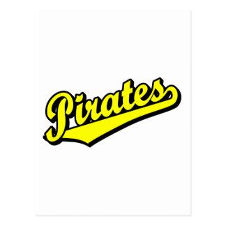 Pirates in Yellow Postcard