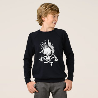 Pirates Kids' American Apparel Raglan Sweatshirt