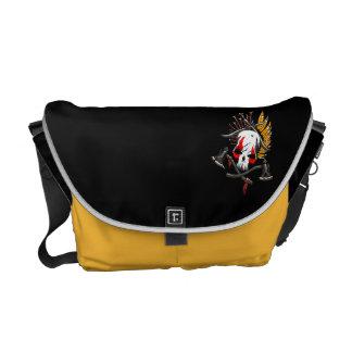 Pirates Medium Messenger Bag Outside Print