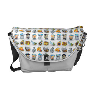 Pirates Messenger Bags