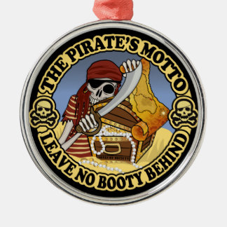 Pirate's Motto Christmas Ornament