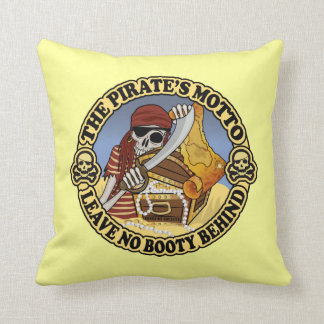 Pirate's Motto Throw Cushions