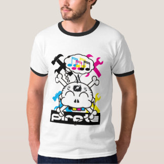 pirates of 4 color process shirt