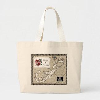 Pirates of Bermuda Large Tote Bag