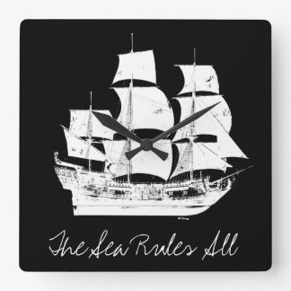 Pirates of the Caribbean 5 | The Sea Rules All Wall Clock