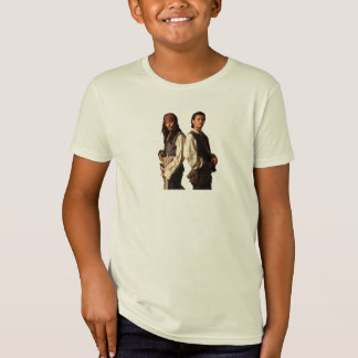 Pirates of the Carribbean Jack Sparrow and Will T-Shirt
