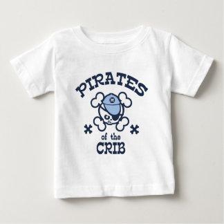 Pirates of the Crib Baby T-Shirt
