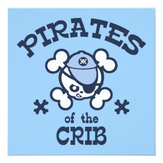 Pirates of the Crib Card
