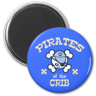 Pirates of the Crib Magnet