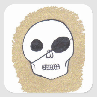Pirates of the Patch Square Sticker
