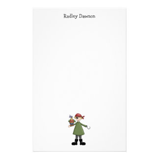 Pirates · Pirate and Parrot Stationery