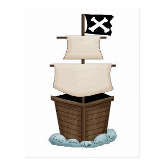 Pirates · Pirate Ship Postcard