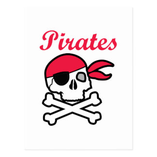 Pirates Postcard