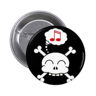 pirates R happy 6 Cm Round Badge