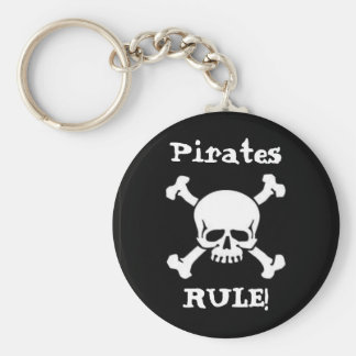 Pirates Rule! Key Ring