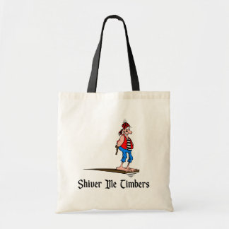 Pirates - Shiver Me Timbers Tote Bag
