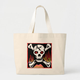 Pirates Skull and Crossbones Tote Bag