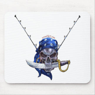 Pirates Skulls Collection by FishTs com Mouse Mat
