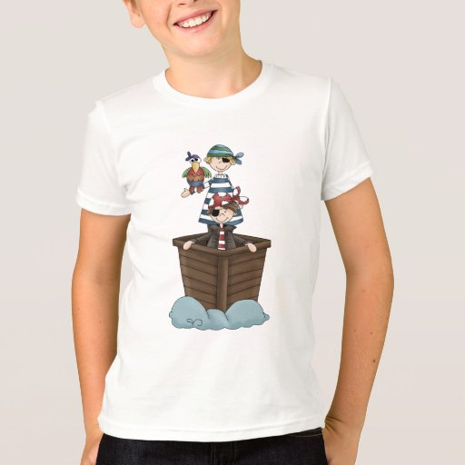 Pirates · Two Pirates in a Boat T-shirt