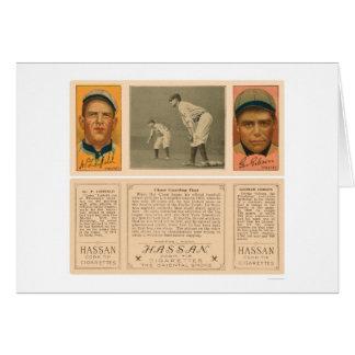 Pirates Yankees Baseball 1912 Card