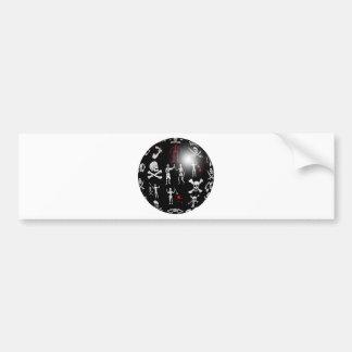 Piratical Sphere Bumper Sticker