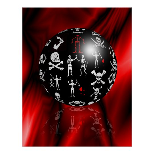 Piratical Sphere Poster