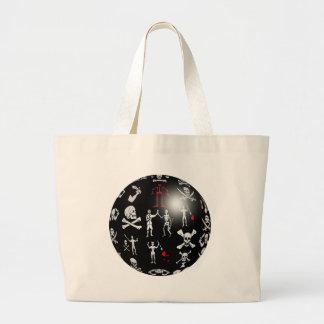 Piratical Sphere Jumbo Tote Bag