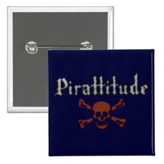 Pirattitude Dark Blue Pin
