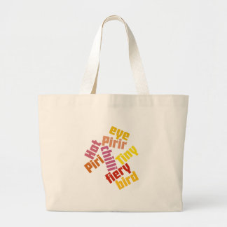 Piri Piri Large Tote Bag