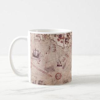 Piri Reis Old World Map Mug