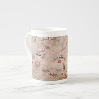 Piri Reis Old World Map Porcelain Mug