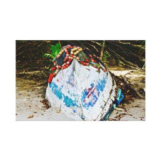 Pirogue in Trinidad ~ Seine ~ Canvas Art