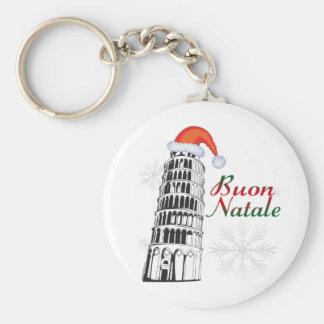 Pisa Buon Natale Keychain