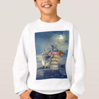 Pisa Tower Koala Bear Funny Sweatshirt