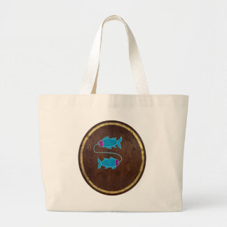 Pisces 2008 large tote bag