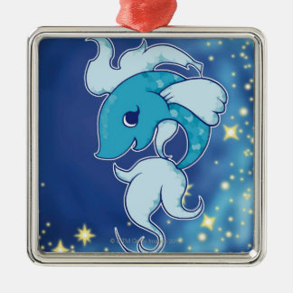 Pisces 2 christmas ornament