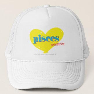 Pisces 3 trucker hat
