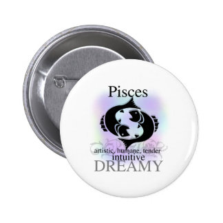 Pisces About You 6 Cm Round Badge