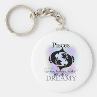 Pisces About You Key Ring