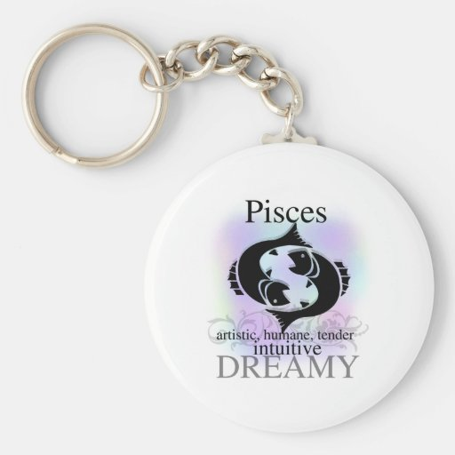 Pisces About You Key Chains